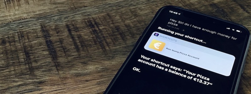 How to ask Siri about your bunq account balance, using the bunq API and Siri Shortcuts